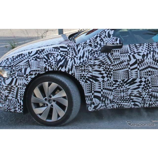 VW ゴルフ GTE 新型スクープ写真