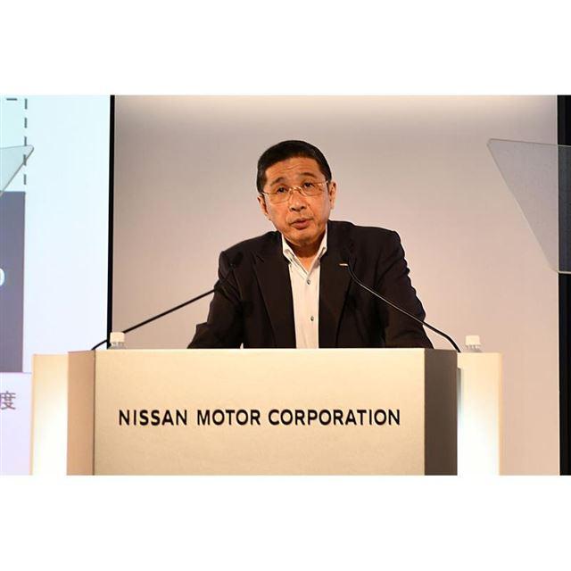 日産自動車の西川廣人代表執行役CEO。