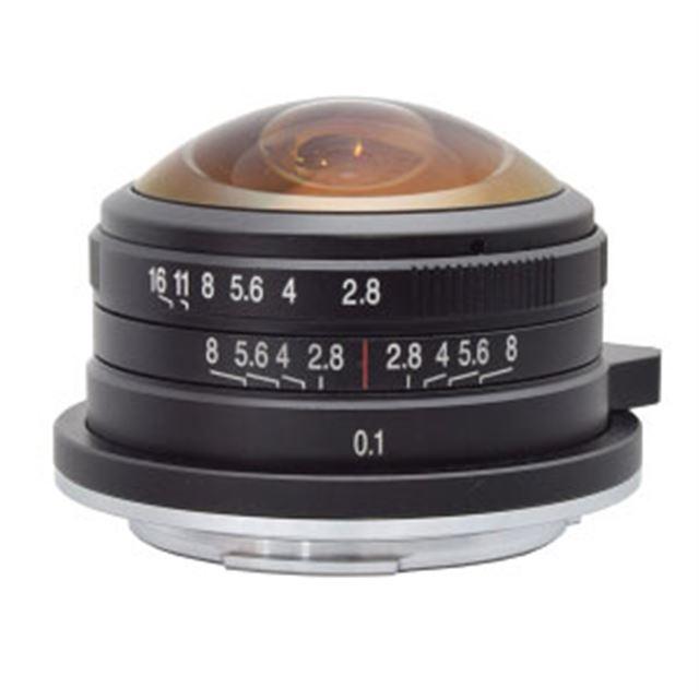 LAOWA 4mm F2.8 Fisheye MFT