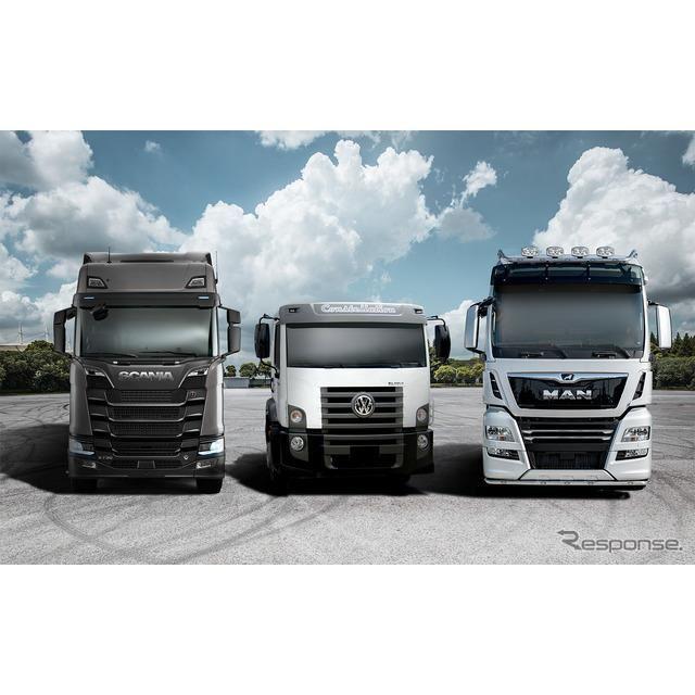 VWトラック&バス「トレイトン」のスカニア、フォルクスワーゲン・トラック・バス、MAN