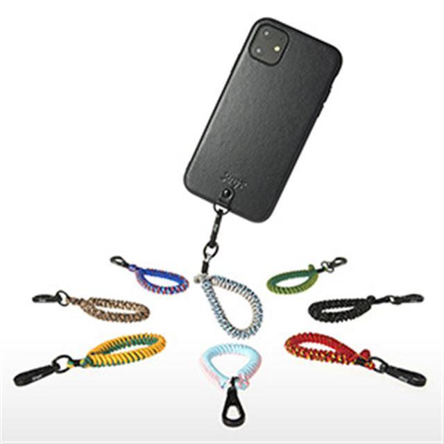 Straps iPhone 11/11 Pro/11 Pro Maxケース+フィンガーストラップ