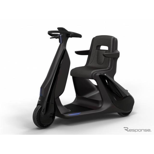 歩行領域EV:座り乗りタイプ
