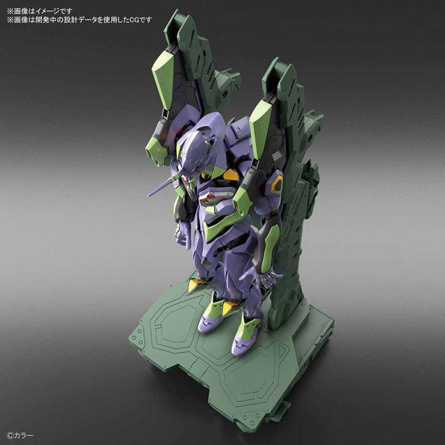 「RG 汎用ヒト型決戦兵器 人造人間エヴァンゲリオン初号機DX 輸送台セット」