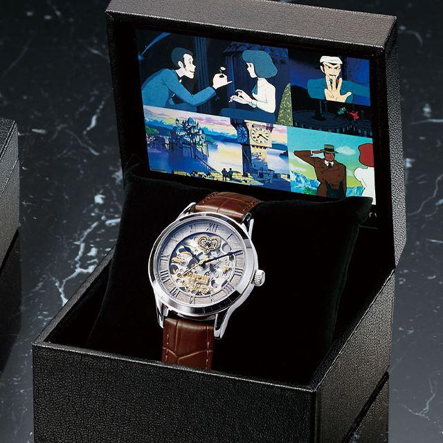 """「ルパン三世 カリオストロの城」""""時計塔の対決""""が機械式腕時計に、1979本限定で発売"""