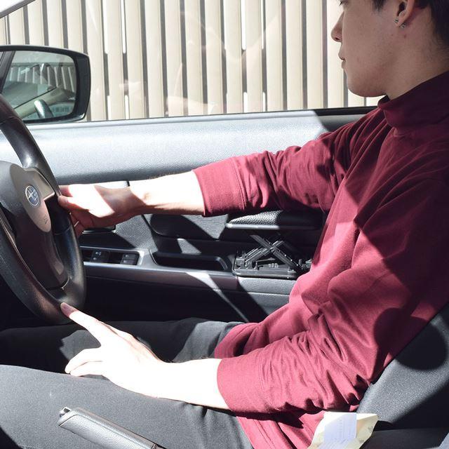 DIY車用高さ調整できるサイドアームレスト CDIYACUA