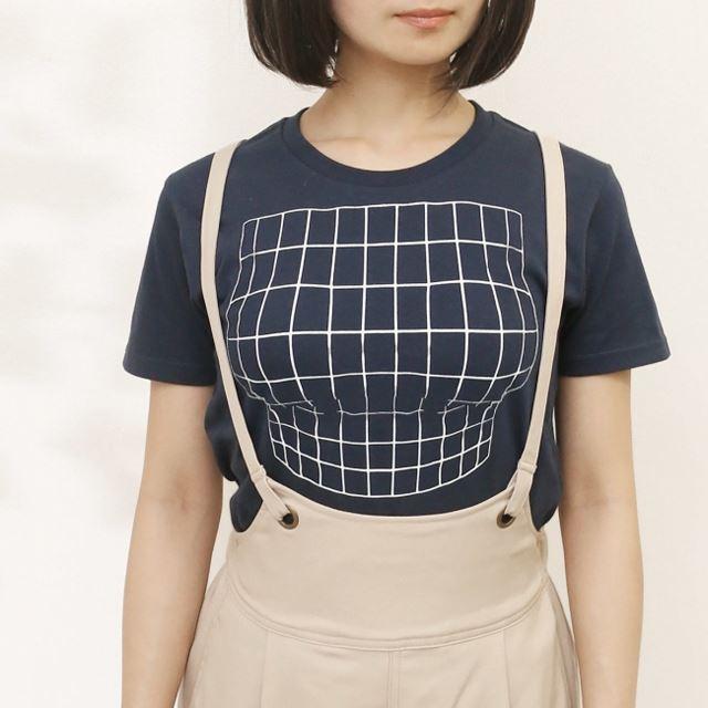 「妄想マッピングTシャツ」