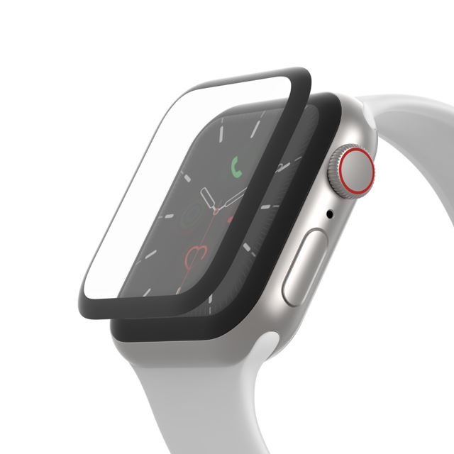 SCREENFORCE TrueClear Curve Apple Watch 用画面保護シール(Series 5/4)