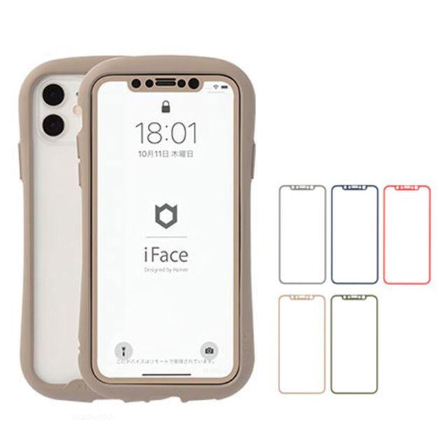 【iPhone 11/XR専用】iFace ラウンドエッジ強化ガラス 液晶保護シート