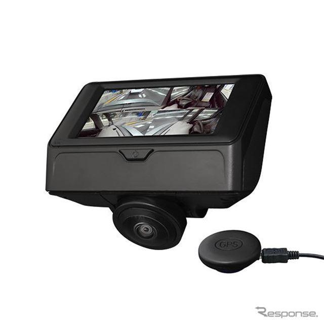 オービス位置データ&GPS機能対応 360°撮影カメラ搭載ドライブレコーダー