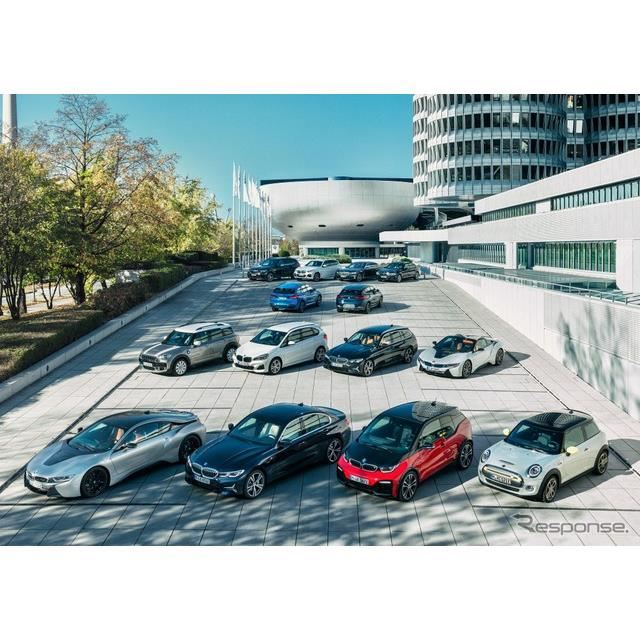 BMWグループの電動車両