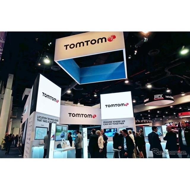 CES2020に出展したTomTomのブース