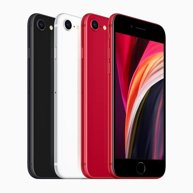 税別44,800円から、アップルが4.7型の第2世代「iPhone SE」発表