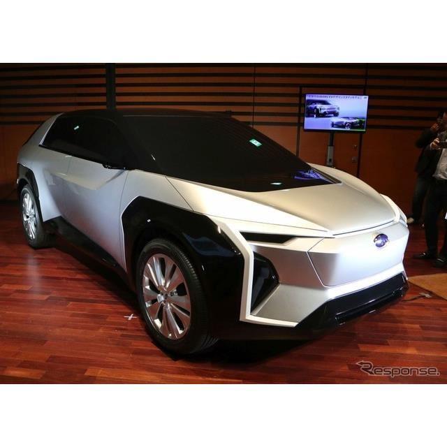 2020年1月、スバル技術ミーティングで公開されたEVデザインスタディ