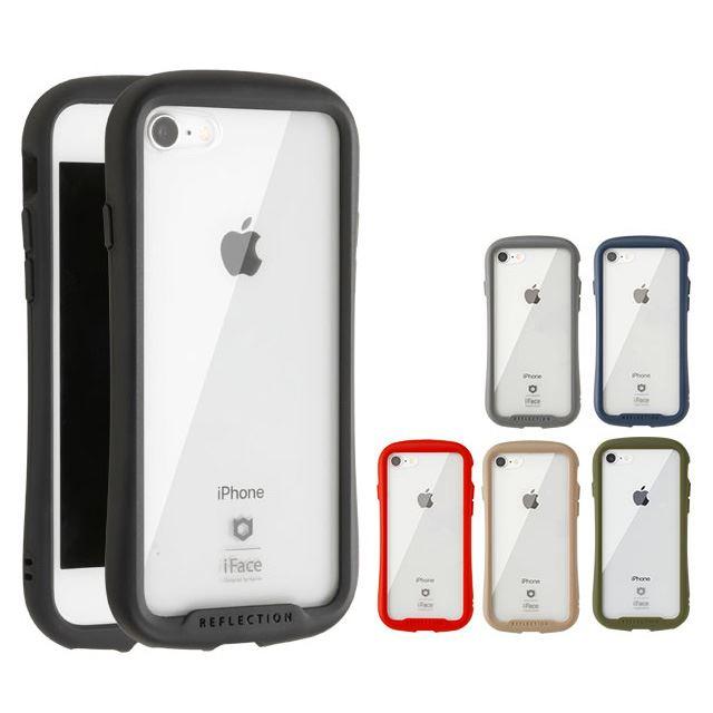 iFace Reflection 強化ガラス 透明クリアケース iPhone SE(第2世代)用