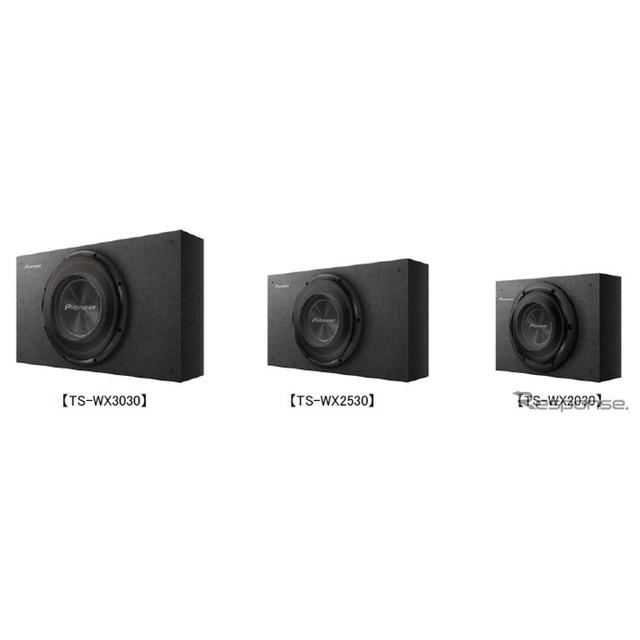 左からTS-WX3030、TS-WX2530、TS-WX2030