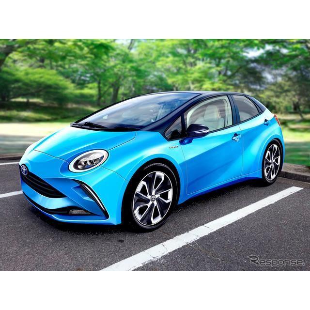 トヨタ LQ 市販モデル 予想CG