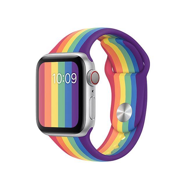 Apple Watchプライドエディションスポーツバンド