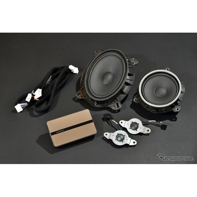 トヨタ車にカプラーオンで装着できるオーディオプロセッサー&スピーカー登場