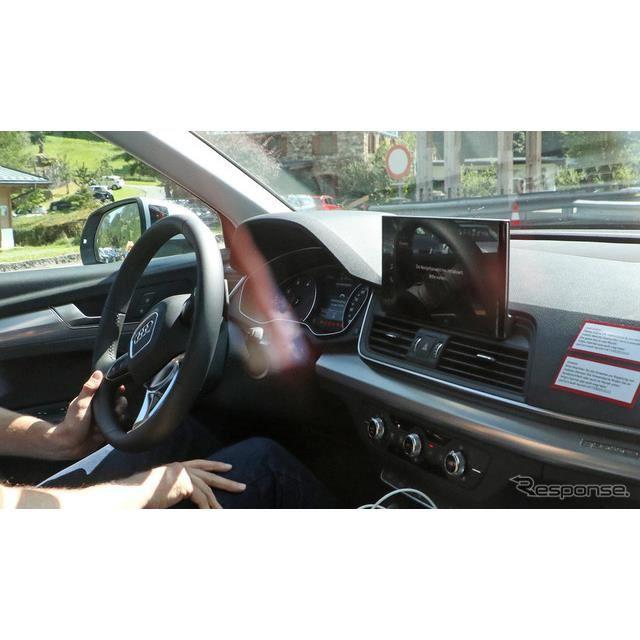 アウディ Q5スポーツバック 市販型プロトタイプ(スクープ写真)