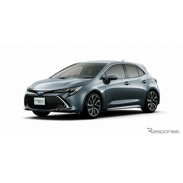 トヨタ・カローラスポーツ・ハイブリッドG Z(グレーメタリック)