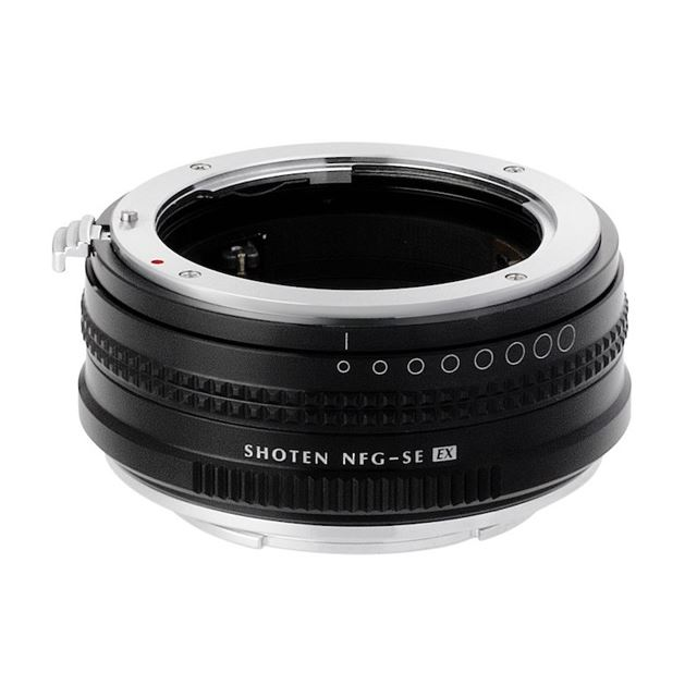 NFG-SE EX (ニコンFマウント(Gタイプ対応)レンズ → ソニーEマウント変換) 絞りリング付き
