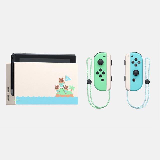 「Nintendo Switchドック(『あつまれ どうぶつの森』)」「Joy-Con(L)/(R)(『あつまれ どうぶつの森』)」