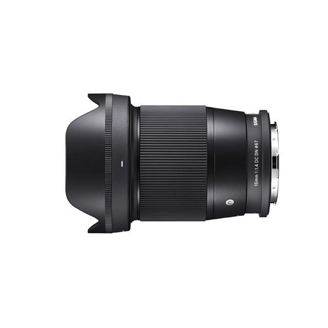 「SIGMA 16mm F1.4 DC DN | Contemporary」