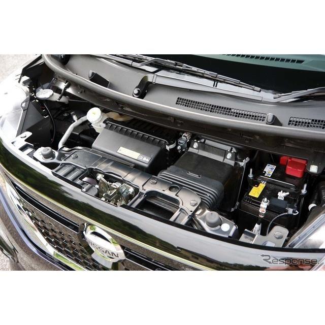 【日産ルークス 新型】最大出47kW(64PS)/5600rpm、100N-mの最大トルクを発生するターボエンジン