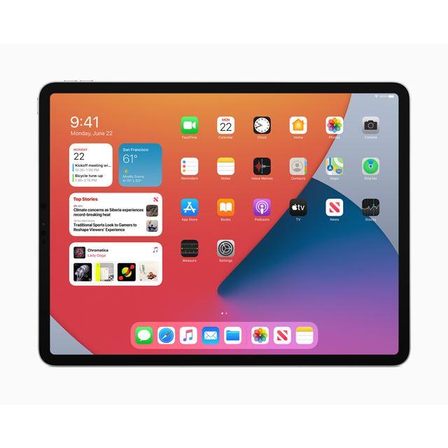 「iPadOS 14」