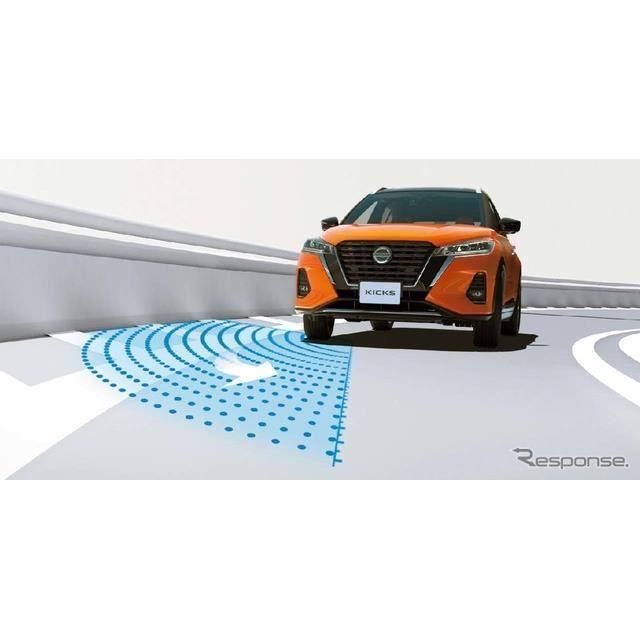 「インテリジェントDA/インテリジェントLI/LDW(車線逸脱警報)」運転中にふらついたり、車線を逸脱しそうなときに警報を発する