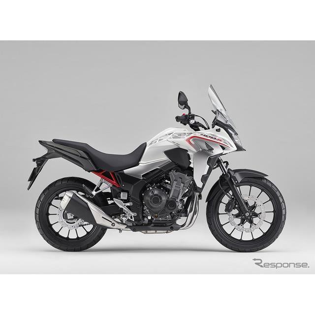 ホンダ 400X(パールグレアホワイト)