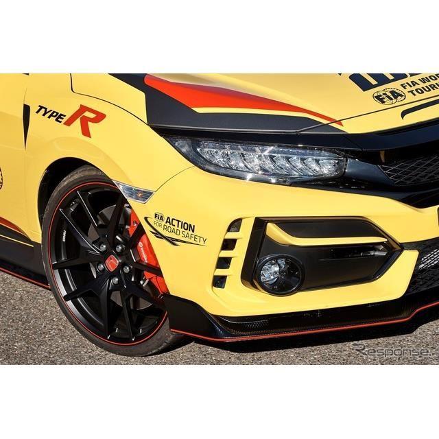 ホンダ・シビックタイプRリミテッドエディションのWTCR公式セーフティカー