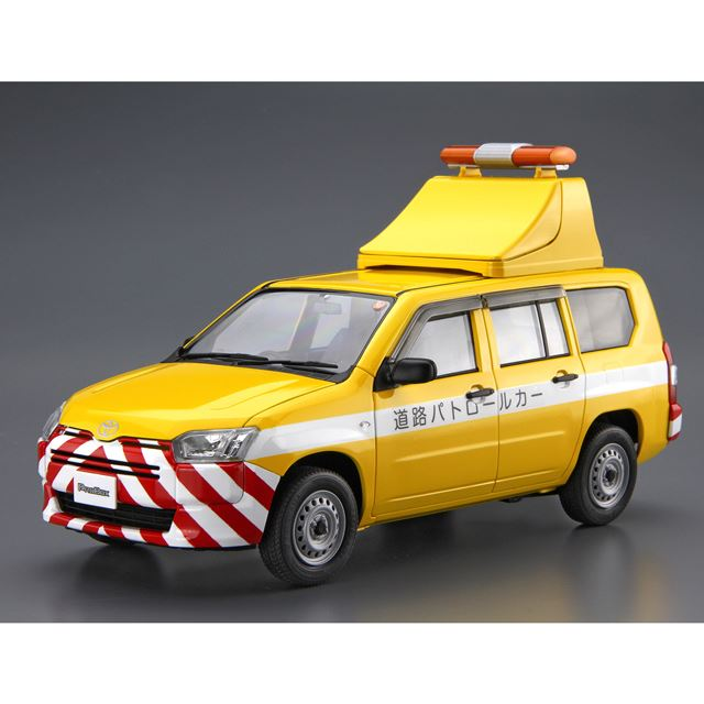 1/24 トヨタ NCP160V プロボックス '14 道路パトロールカー