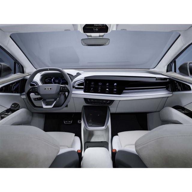 2021年に生産開始 アウディの電動クーペSUV「Q4スポーツバックe-tronコンセプト」登場