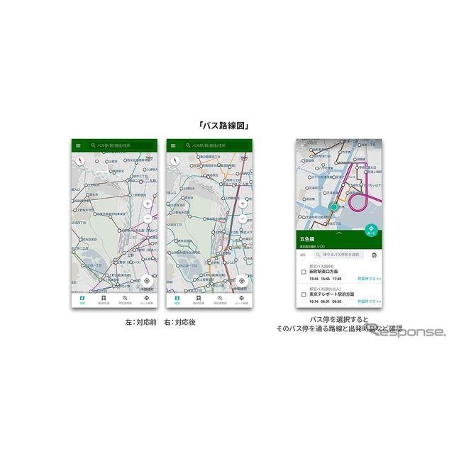 バス路線図