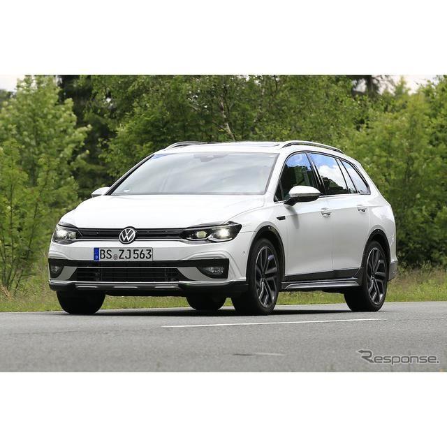 VW ゴルフオールトラック 新型プロトタイプ