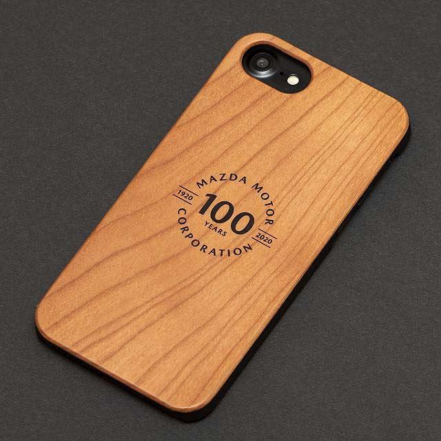 マツダ100th Anniv. Wood iPhoneケース