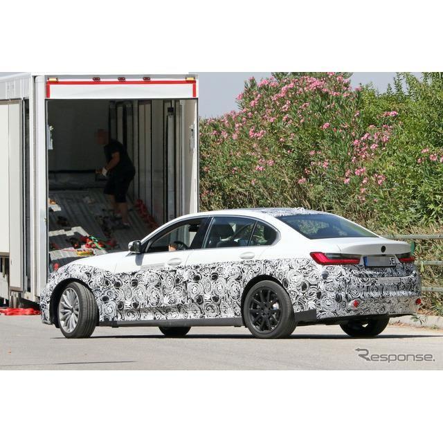 BMW 3シリーズ EV 市販型プロトタイプ(スクープ写真)