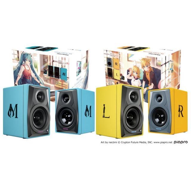 初音ミクモデル「VL-S3BT MIKU」、鏡音リン・レンモデル「VL-S3BT RIN LEN」