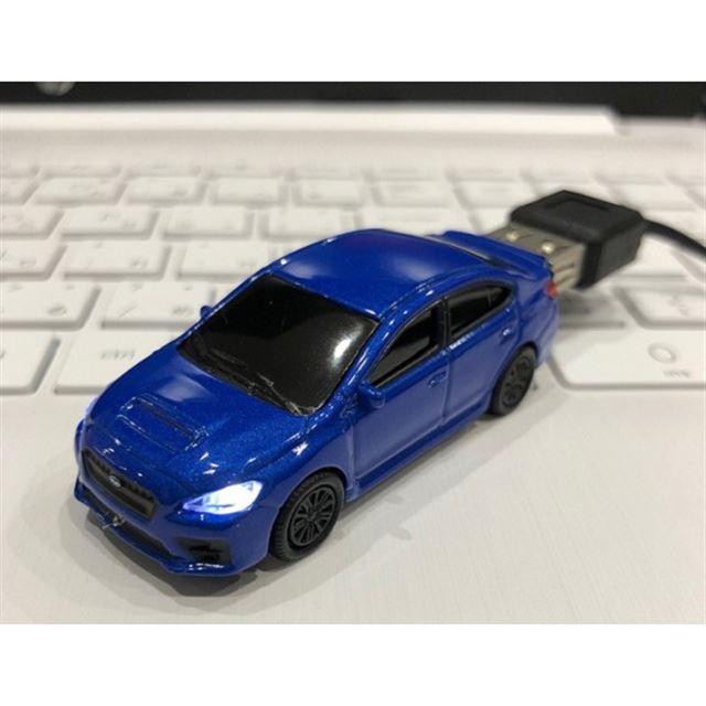 【32GB】SUBARU スバル WRX USBメモリー ブルー
