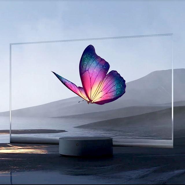 """約77万円で未来がやってくる? Xiaomiが""""透明OLED""""テレビを発表"""
