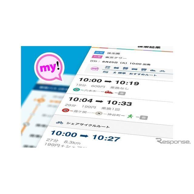 東京メトロ my!アプリ