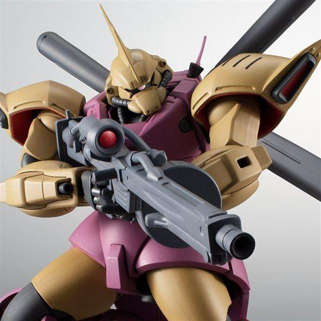 「ROBOT魂 <SIDE MS> MS-14Fs ゲルググM指揮官機(シーマ・ガラハウ機)ver. A.N.I.M.E.」