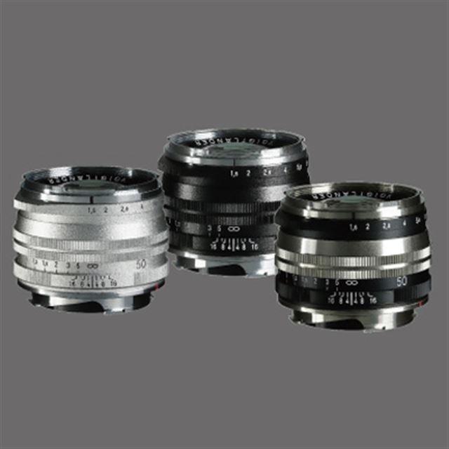 大口径標準レンズ「NOKTON Vintage Line 50mm F1.5 Aspherical II VM」