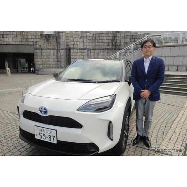 トヨタ ヤリスクロス 開発責任者の末沢泰謙氏