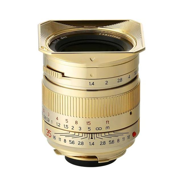 「35mm f/1.4 ASPH Gold Edition」