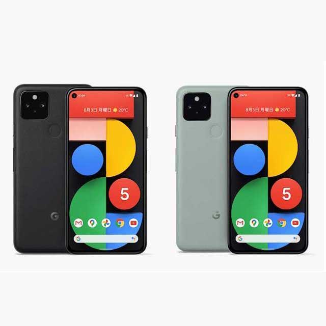 グーグルが5Gスマホ「Pixel 5」「Pixel 4a(5G)」を発表