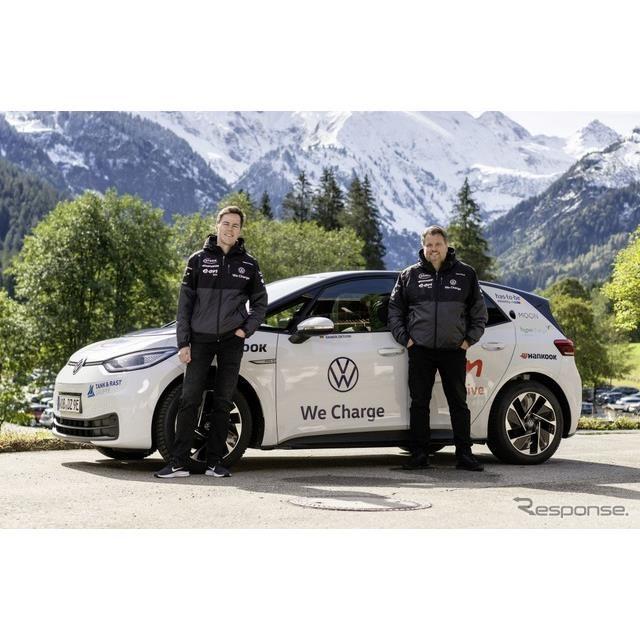フォルクスワーゲン ID.3の2万kmに及ぶ長距離テスト車両