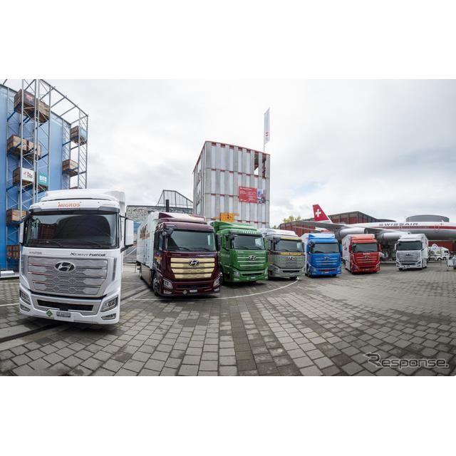 燃料電池トラック、ヒュンダイ・エクシェント