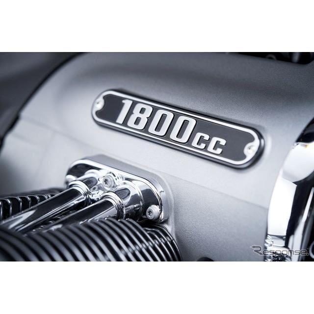 BMWモトラッドの排気量1800ccの2気筒ボクサーエンジン
